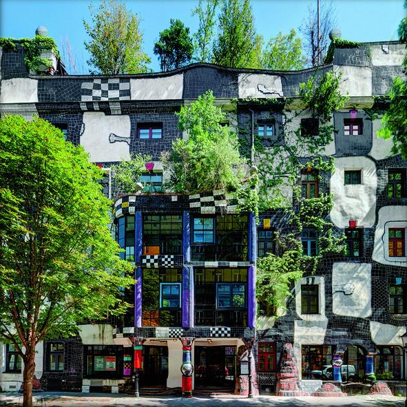 Kunst Haus Wien Museum Hundertwasser 187 The Wedding Planner